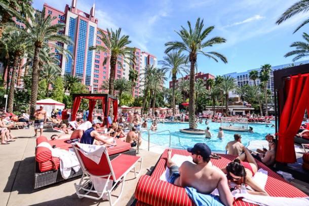 flamingo pool vegas best pool